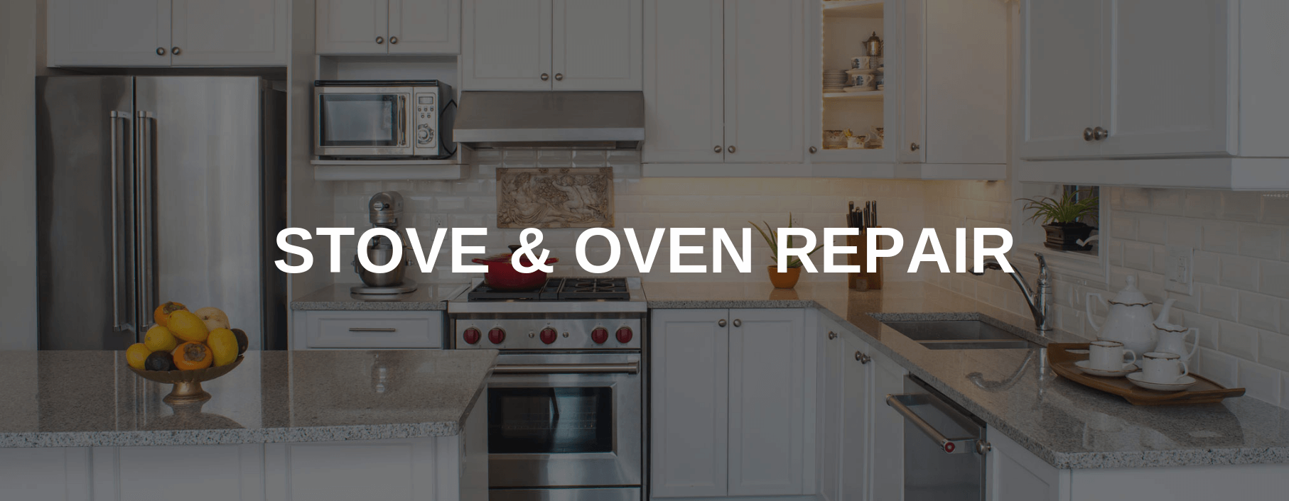 stove repair irving