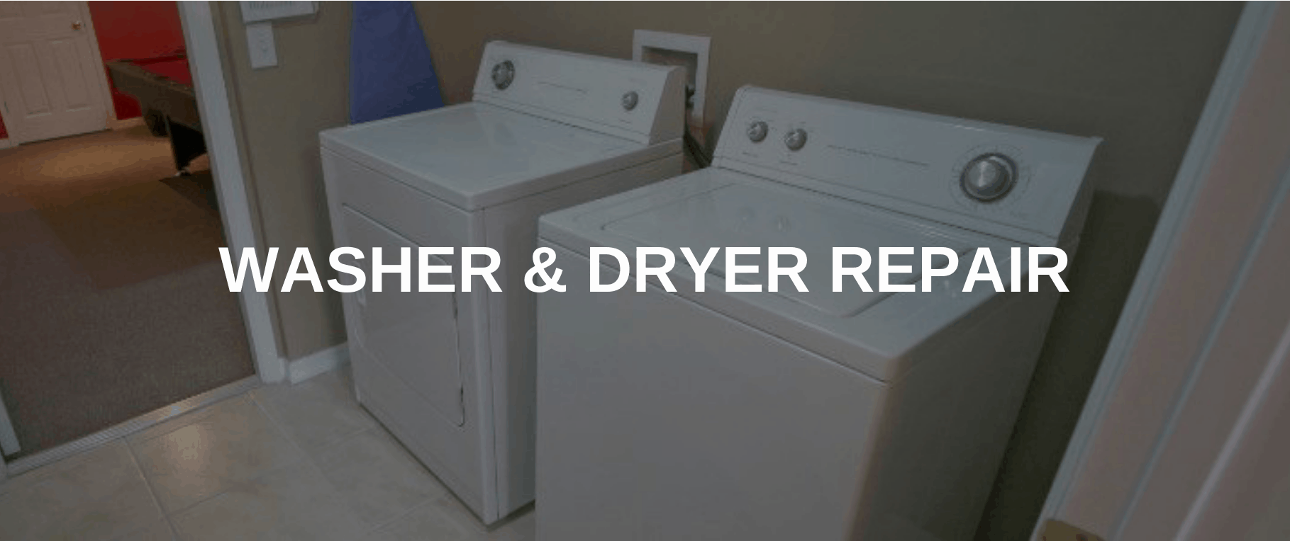 washing machine repair irving